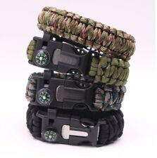 5in1-Paracord-Armband, Outdoor, Survival, Camping, Multitool, Feuerstarter