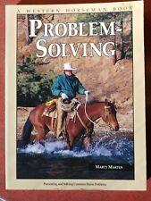 Western Horseman Problem Solving Book Marty Marten 2nd Prtg. 1999