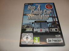 PC Bus & Cable Car simulatore