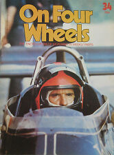 On Four Wheels magazine Vol.3, Issue 34 featuring Emerson Fittipaldi, Fiat, Ford
