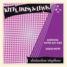 """Kitty Daisy & Lewis Messing With My Life 7"""" Vinyl Single New 2011"""