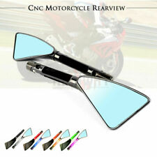 Motorcycle CNC Triangle Rearview Side Mirror For SUZUKI GSF650/1250 BANDIT 650S