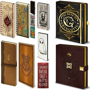 Official Harry Potter Hogwarts Quibbler Fantastic Beasts Notebook Lined A5 UK