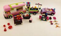 LEGO 3184 Friends Adventure Camper and 41013 Emma's Sport Car