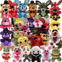 "7"" Five Nights at Freddy's FNAF Horror Plush Doll Stuffed Toy Kid Gift Christmas"