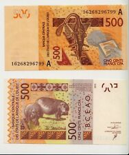 New: IVORY COAST 500 Francs (2017) Banknote  2012  West Africa
