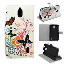 Flip Book Leather Wallet Phone Stand Cover Case Protect For Huawei Ascend Y625
