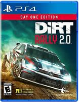 PLAYSTATION 4 PS4 VIDEO GAME DIRT RALLY 2.0 DAY ONE EDITION BRAND NEW AND SEALED