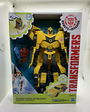 Transformers Robots in Disguise Power Surge Bumblebee+Mini Con Buzzstrike Figure