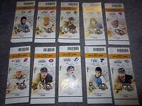 Pittsburgh Penguins vs Boston Bruins TICKET STUB 3-10-19 Game 34 Letang