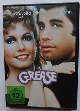 DVD Grease John Travolta Olivia Newton-John Musikfilm Stockard Channing Musical