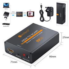 HDMI vers PÉRITEL Composite Convertisseur Vidéo Support 4Kx2K/30Hz Entré NTSC et