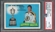 1971-72 O-Pee-Chee #249 John Bucyk PSA 8 NM-MT Boston Bruins PL