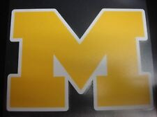 Michigan Wolverines Colored Window Die Cut Decal Wincraft Sticker 8x8 Ncaa