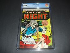 Out of the Night #13 CGC 6.0 from 1954! Pre Code Horror not CBCS