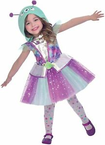 Cute Galaxy Adorable Alien Headdress Hoodie Age 4-6 Years for Girls