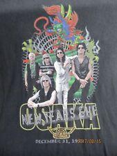 Vintage RARE Aerosmith T-shirt ROAR OF THE DRAGON TOUR XL OSAKA JAPAN USA MADE