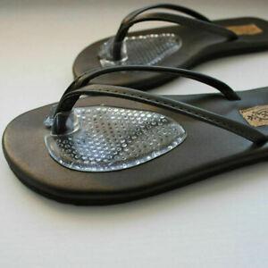 1 Pair Sandal Flip-flop Toe Post Gel Cushion Separator Spreader Protector Insole