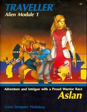 Traveller- Alien Module 1- Aslan - A  Proud Warrior Race GDW  FS