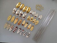 SPINNER BLADE ASSORTMENT .024 WIRE RIPPLE & JUNE BUG LURE MAKING BENDING FORMING