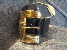 Huge! Extremely Rare!  Kieselstein Classic Buckle With End Tip/ Alligator  Belt