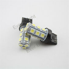 100Pcs T20 7443 18SMD 5050 LED Chip Car Tail Brake Light Bulb Cold White 12V