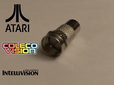 Atari 2600 / Colecovision Coleco / Intellivision Coaxial RF Video Adapter TV