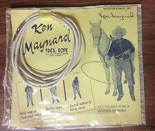 Vintage Ken Maynard Trick Rope w/Original Cellophane Package