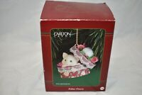 NIB Carlton Cards Heirloom Collection Feline Finery Christmas Cat Ornament