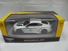 OFFICIAL 1:24 BENTLEY CONTINENTAL GT3  PLASTIC FRICTION CAR DETAILED MODEL