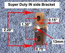 Right Angle 13mm Ball EXTRA Heavy Gauge Bracket Nitro-Prop Strut IN-Side Mount