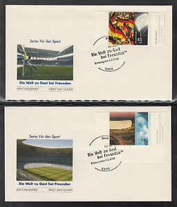 NE 101 ) FDC FIFA World Cup 2006 in Germany and Equestrian World Championships