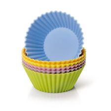 Kaiser Silikon-Muffinform-Set 6 St�ck farbig Creativ Backform