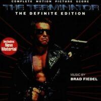 BRAD FIEDEL/OST- TERMINATOR-DEFINITE EDITION  CD  19 TRACKS SOUNDTRACK  NEW