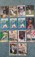 Derek Bell Baseball Card Mixed Lot approx 50 cards