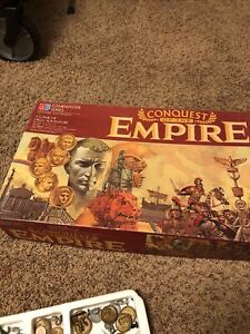 Conquest of the Empire Gamemaster Series Milton Bradley Game Complete?