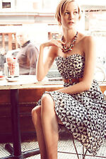 NWT Anthropologie Overwhelmed Aster Dress Sz 4 5star review