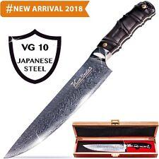 Premium Damascus Chef Knife 8-inch - Professional Japanese Damascus Steel VG-10