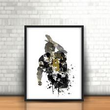 Alan Shearer- Newcastle United Inspired Football Art Print Design NUFC Number 9