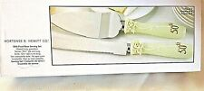 50th Wedding Anniversary, Cake Server Set, Pearl Rose Collection    New in Box!!
