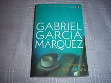 Living to Tell the Tale by Gabriel Garcia Marquez Book