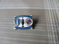 LEEDS United v READING 2011 - 2012 Championship Game FOOTBALL Pin Badge