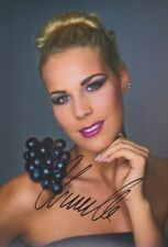 CHANELLE WYRSCH 1 DSDS Foto 20x30 orignal signiert IN PERSON Autogramm signed
