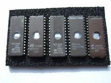 5 x 27C256  Eproms / Eprom mit UV-Fenster  -  gereinigt und gelöscht