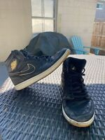 Nike Air Jordan 1 Retro High OG Los Angeles 555088-031 Black City Flight 9.5
