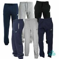 New Mens NIKE Tracksuit Bottoms Joggers Fleece Pants Grey Dark Grey Navy Black