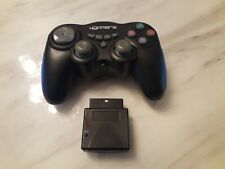 4GAMERS RF PS2 PLAYSTATION WIRELESS CONTROLLER PAD WITH DONGLE