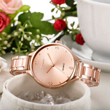 Fashion Women Watches Geneva Stainless Steel Analog Quartz Business Wrist Watch