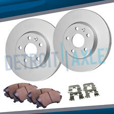 Front Brake Rotor & Ceramic Pad 2002 - 2004 2005 2006 Equinox Torrent Saturn Vue