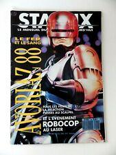 STARFIX Magazine N° 36 janvier 1988  / robocop presse cinéma Mad movies
